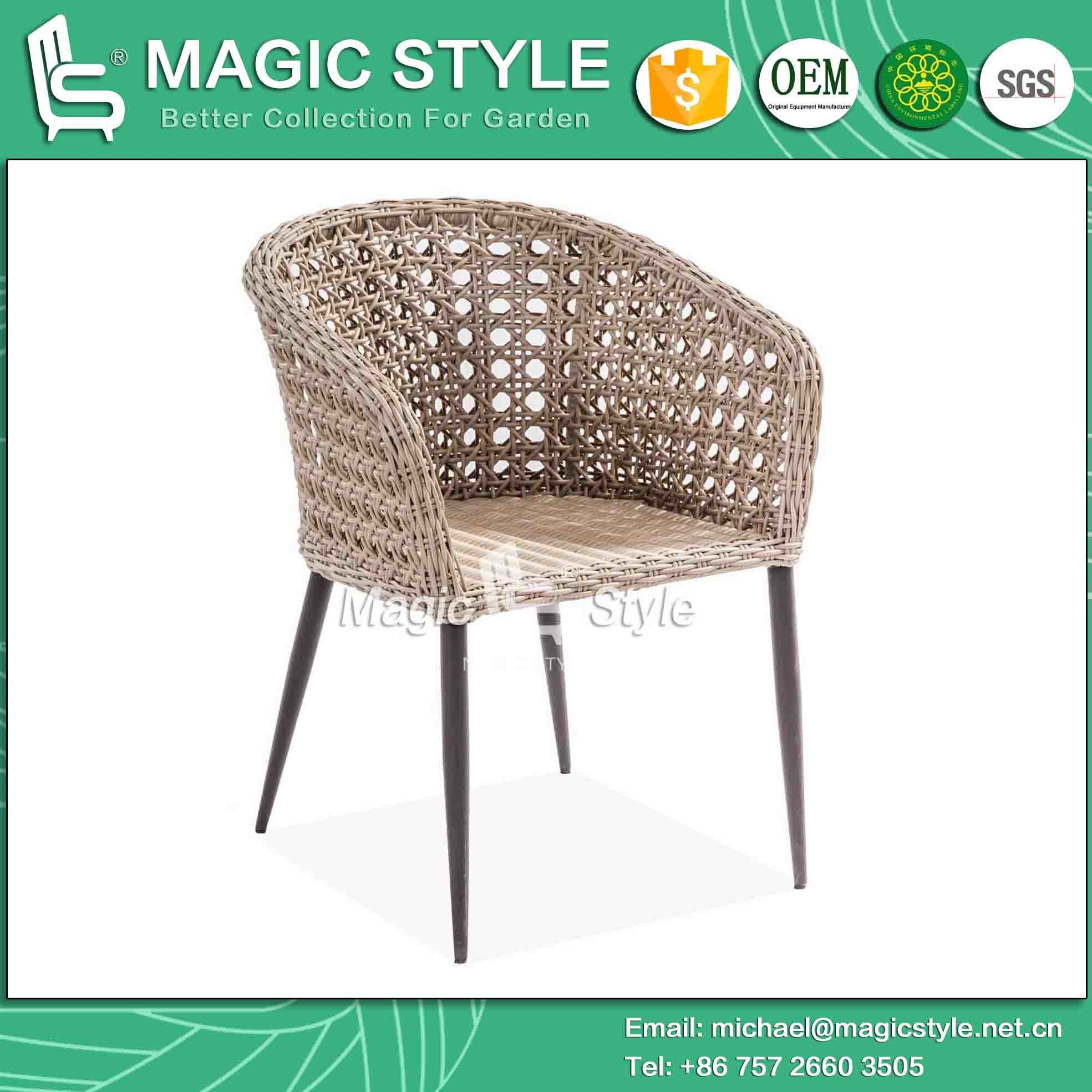 Patio Chair New Design Chair Coffee Chair Rattan Chair Wicker Chair High Quality Chair (Magic Style)