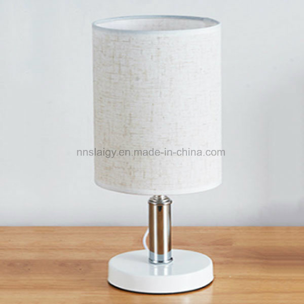 Simple Style Fabric Metal Home Decoration Lamps For Reading