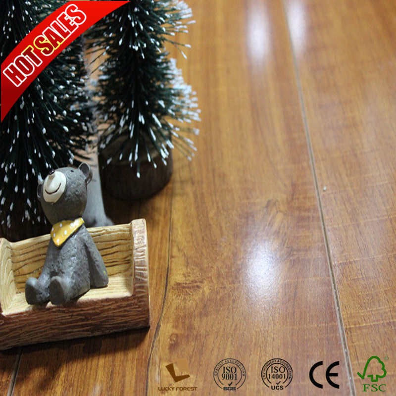 China Suppliers Dupont Laminate Flooring Cherry Red Wood Hardwood Building Material
