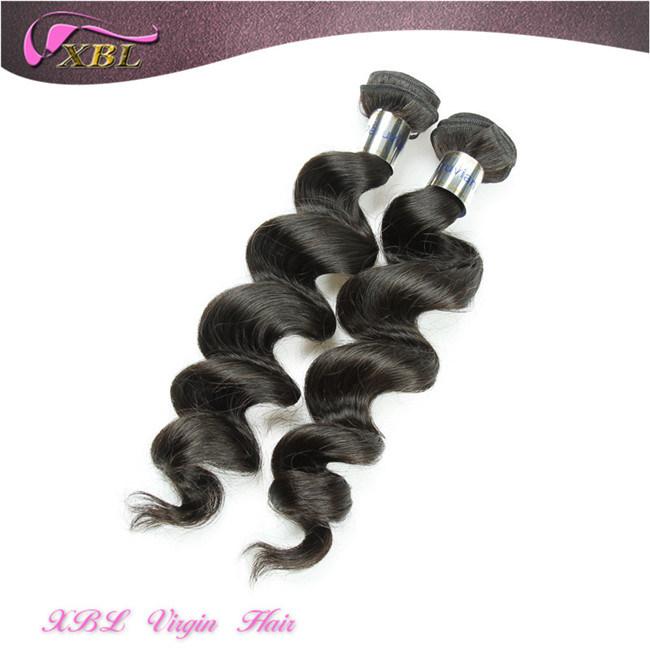 China Xbl Virgin Peruvian Human Hair Wholesale Hair Weave