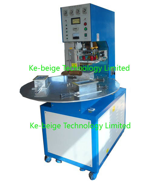 Rotary High Frequency Welding Machine for PVC Plastic Parts Welding