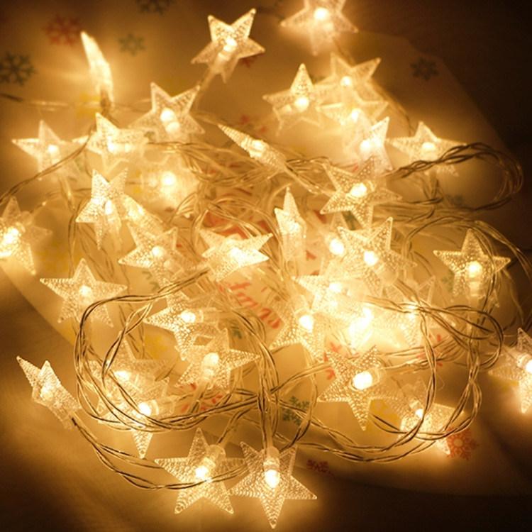 Battery Led Warm White Fairy Christmas
