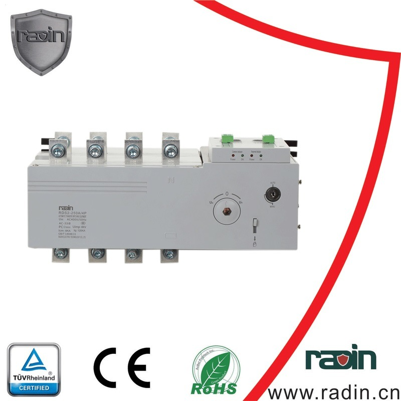 China 3phase 208V Dual Power Automatic Transfer Switch for American ...