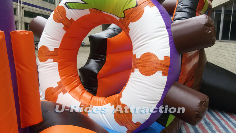 2016 newest Ghost Ship pool inflatable game