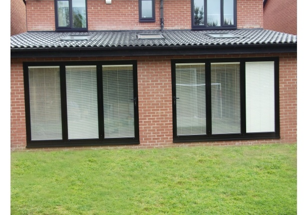 Triple Glazed Exterior Bi Folding Doors for Commercial pictures & photos
