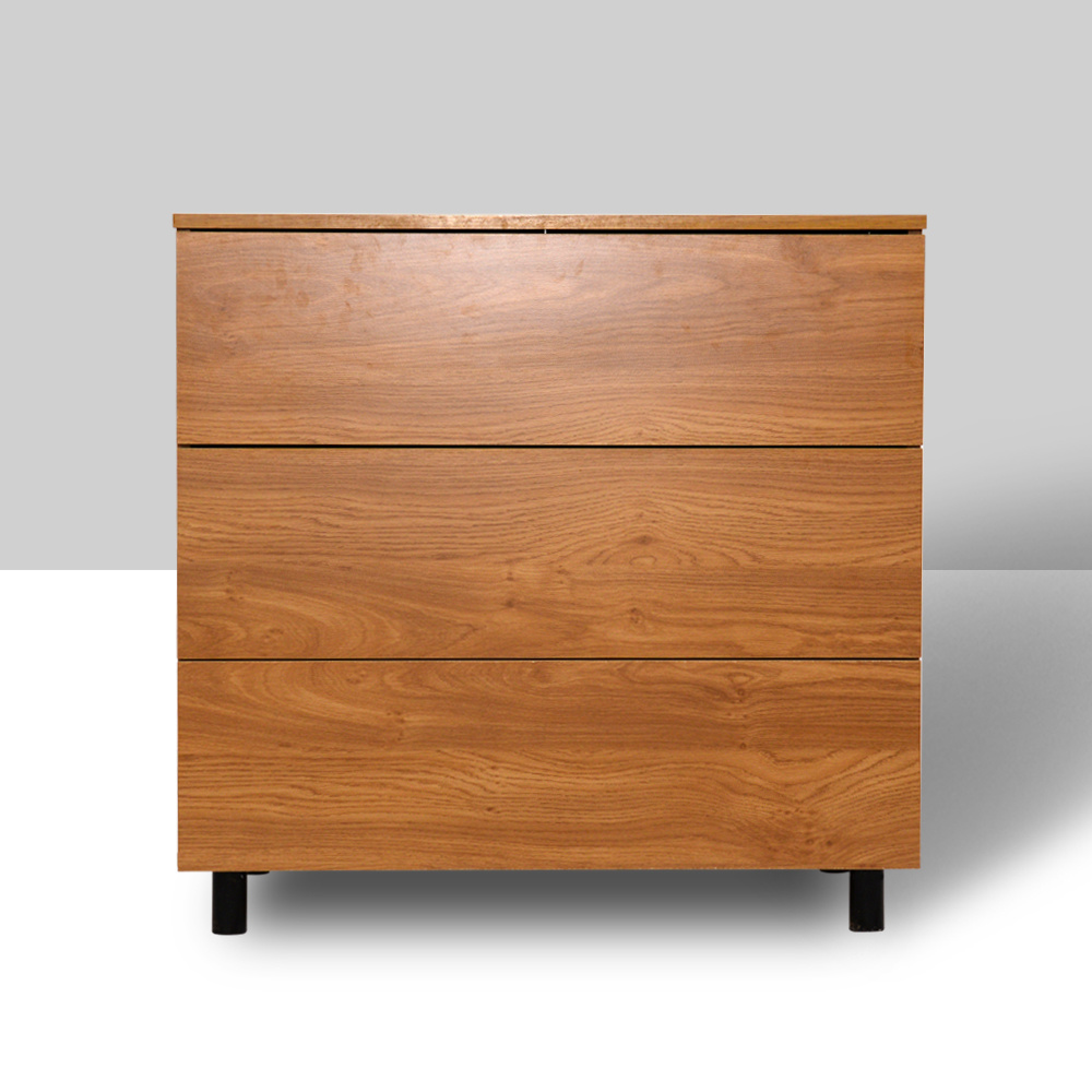 Solid Wooden Drawer Chest Kids Espresso