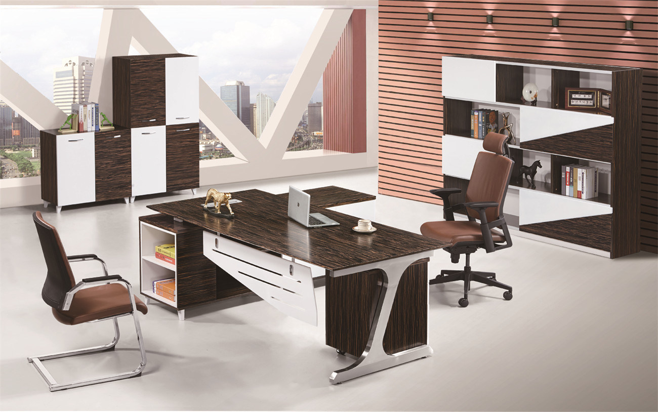 China z shape metal leg modern fashion melamine veneer executive table china office table executive table