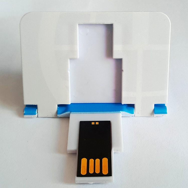 China Foldable Card USB Folding Business Card USB Memory Stick ...