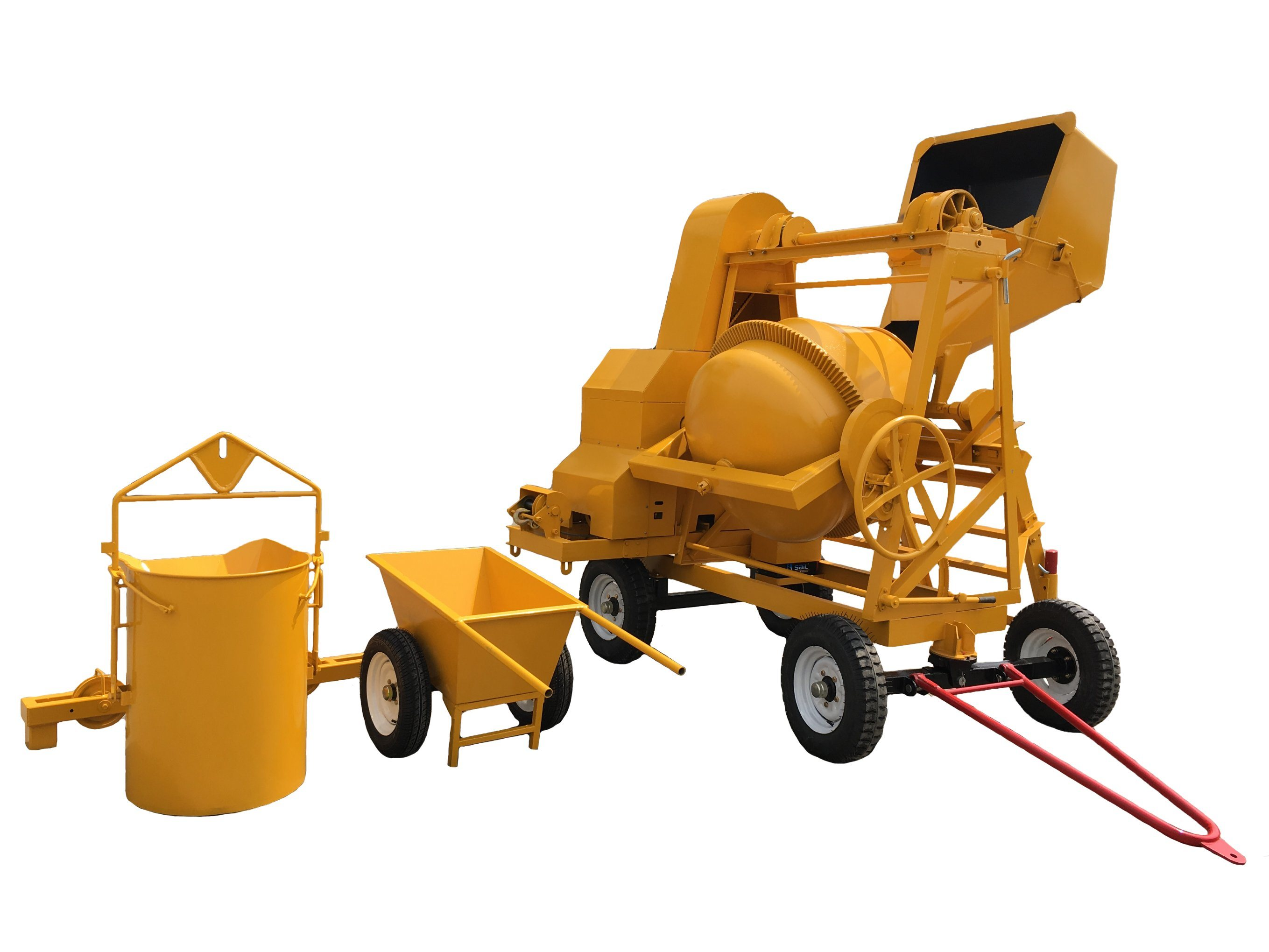 Topmac Brand 510 Lt Concrete Mixer with Winch