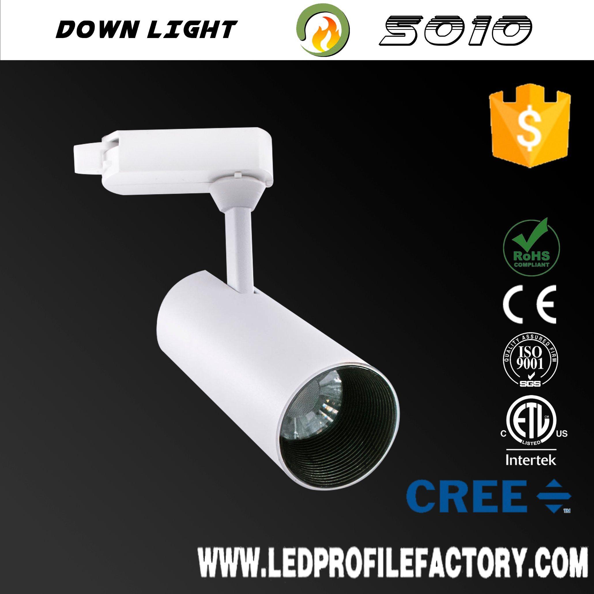 Hot item kitchen adjustable track spot lighting hanging led track light price track led spotlight