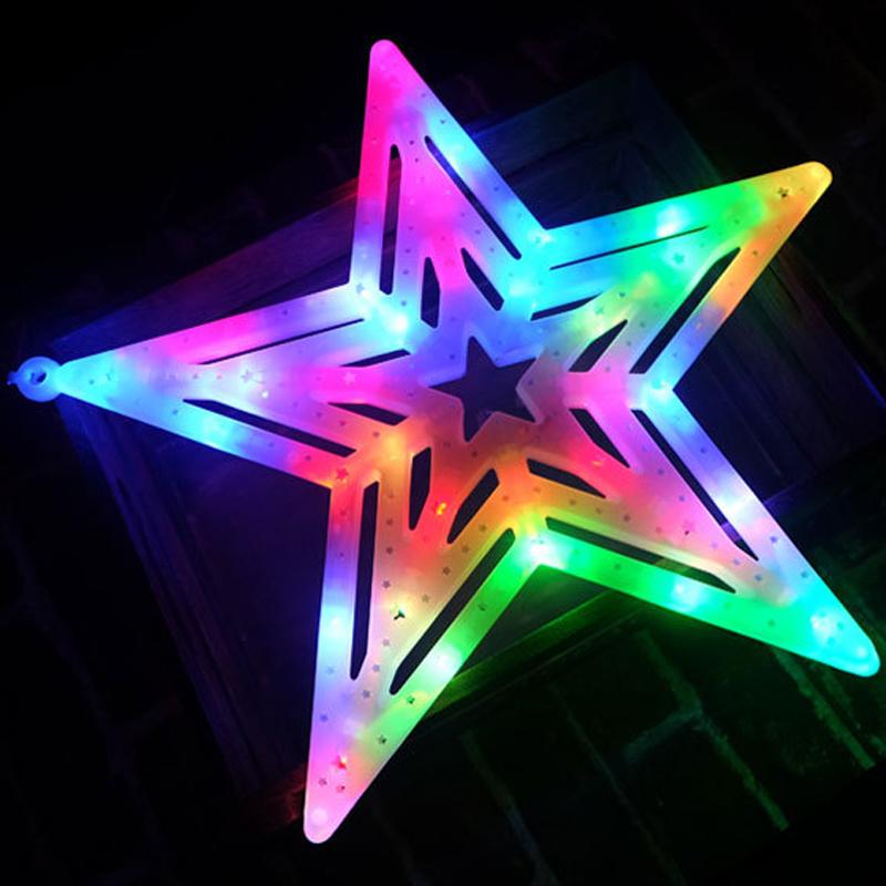 China Christmas Decoration Star Led Motif Lighting Light