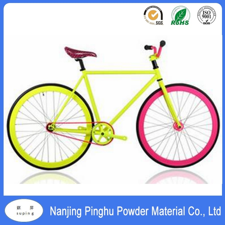 China Fluorescent Powder Coating Electrostatic Spraying for Bicycle ...