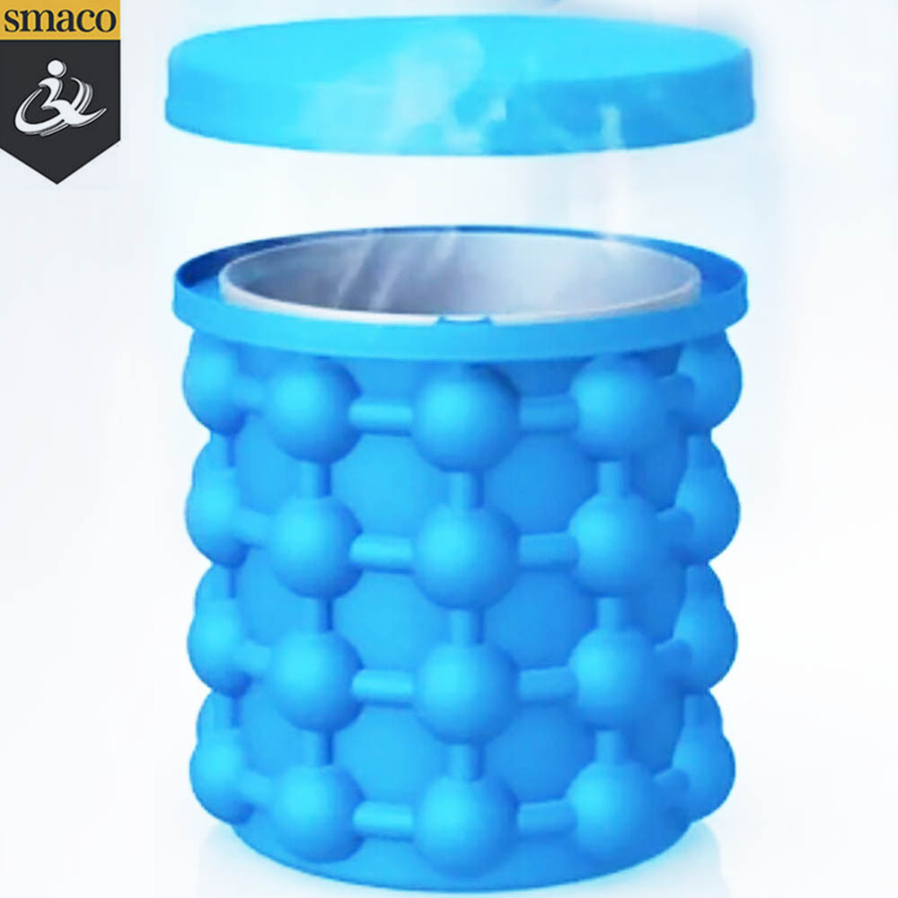 China 2018 Hot Sale Silicone Ice Cube Maker Genie Kitchen and Bar ...