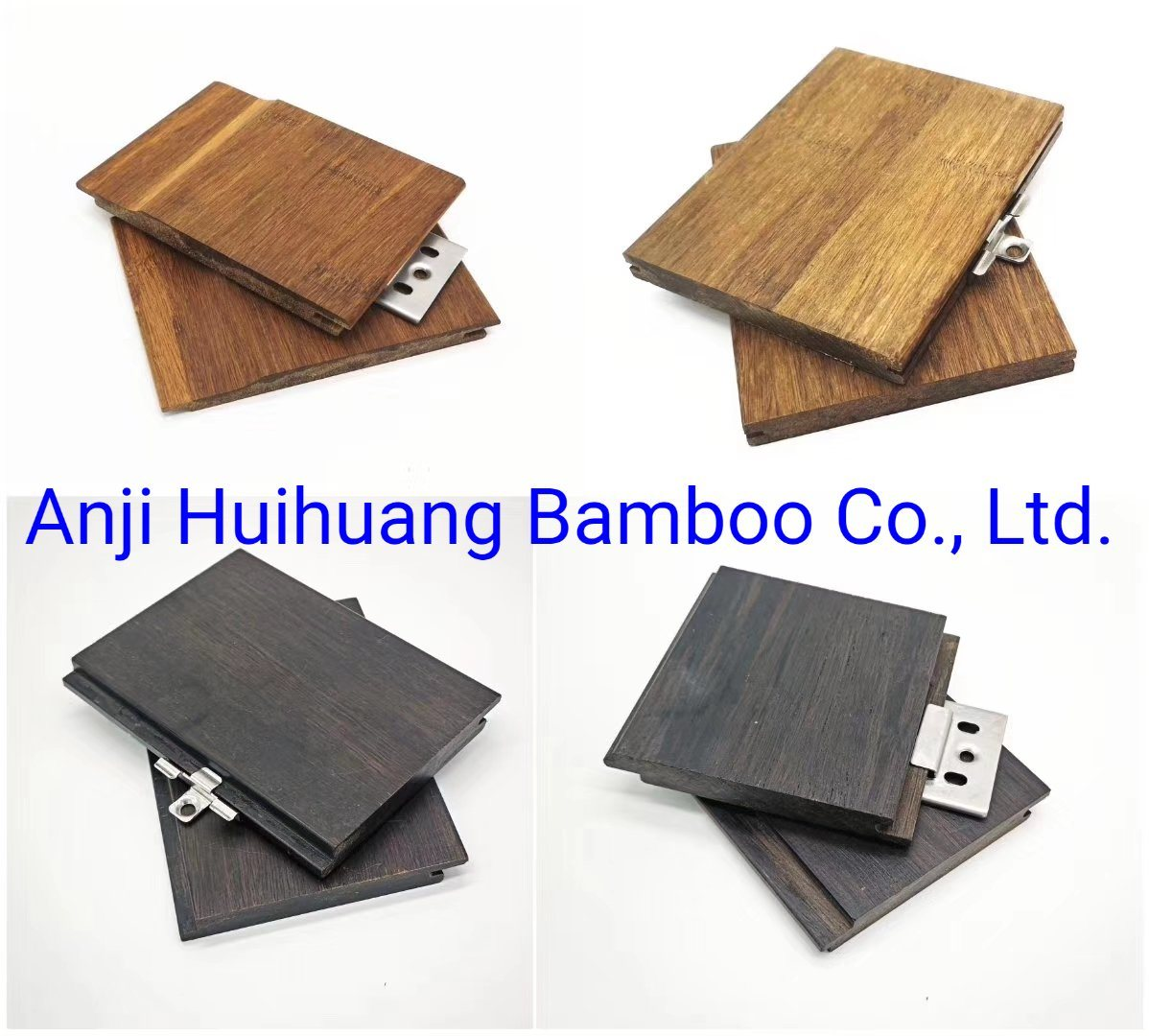 Four Colors Bamboo Ceiling Materials