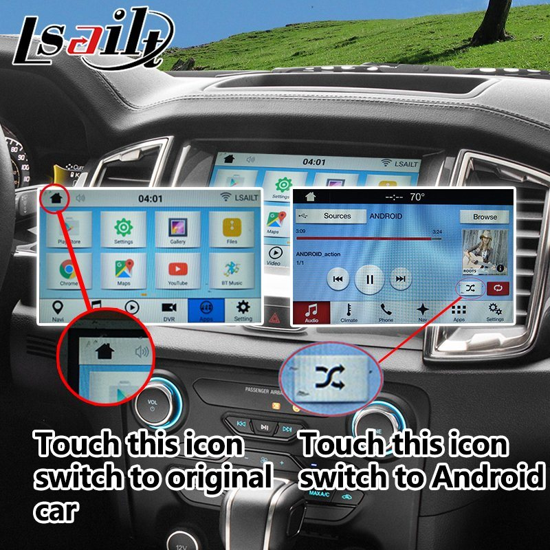 ford ranger sync 3 android