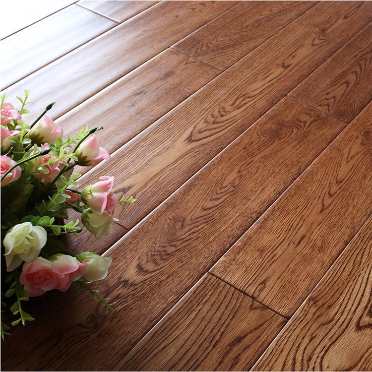 China Pure Solid Wood European Oak Flooring Beijing Solidwood Floor Wooden