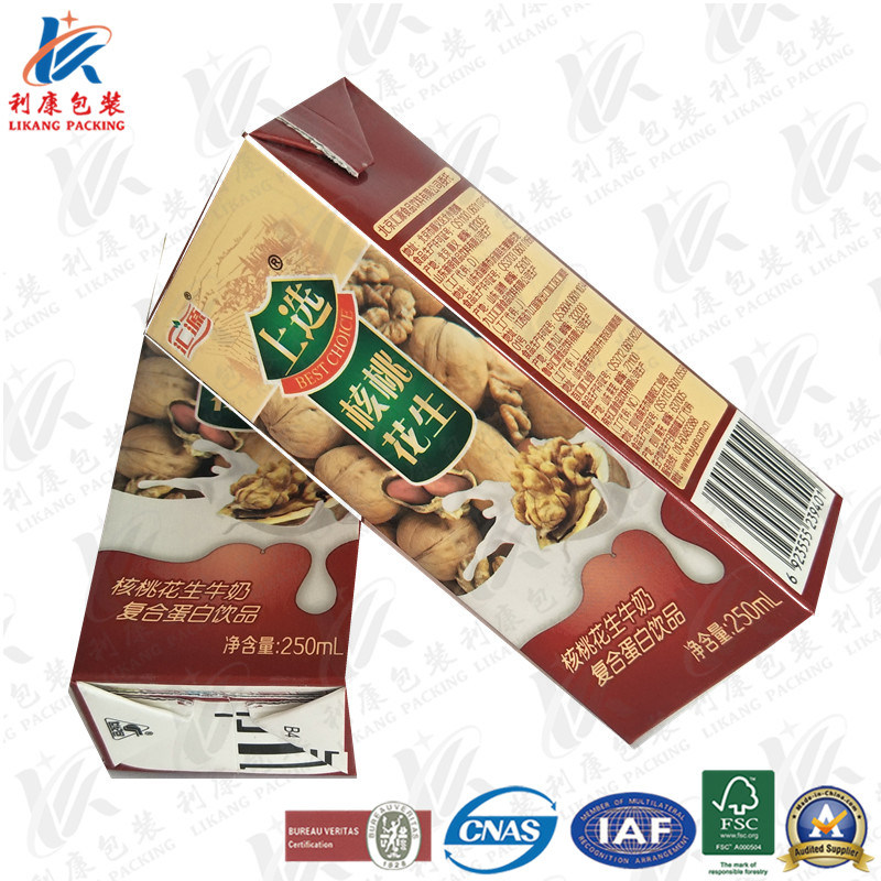 Aseptic Brick Carton for Milk and Juice pictures & photos