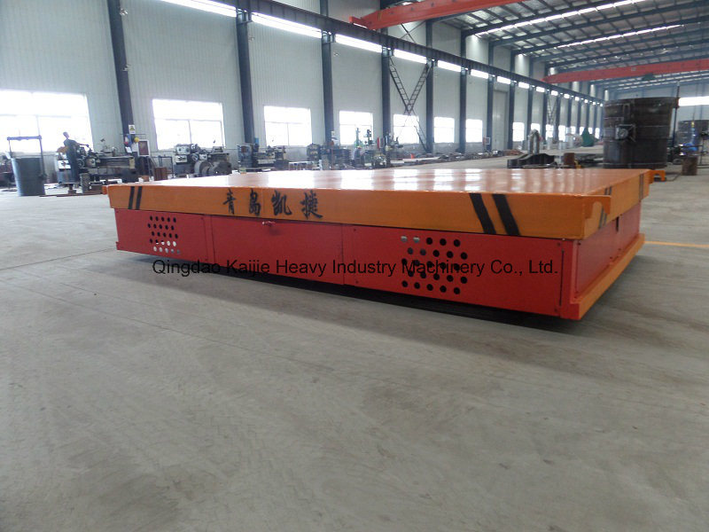 30 Tons Kpd Flatcar/ Low -Voltage Rail Electric Flatcar