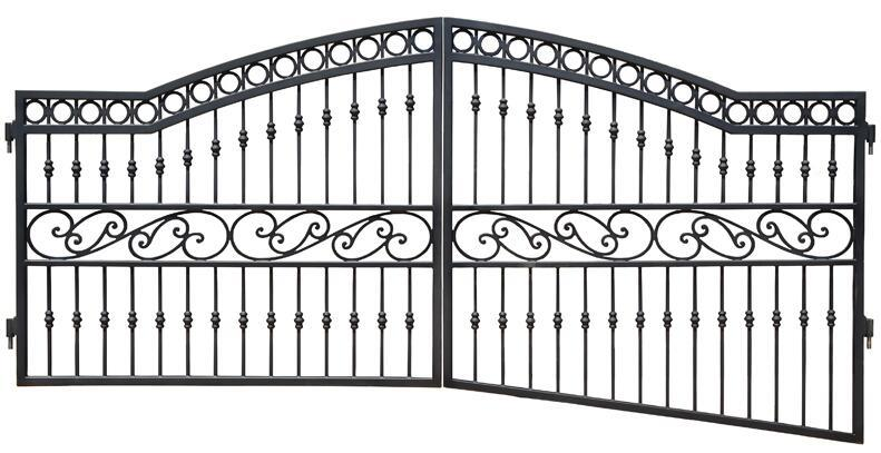China Yishujia Factory Wholesale Simple Steel Gate Design ...