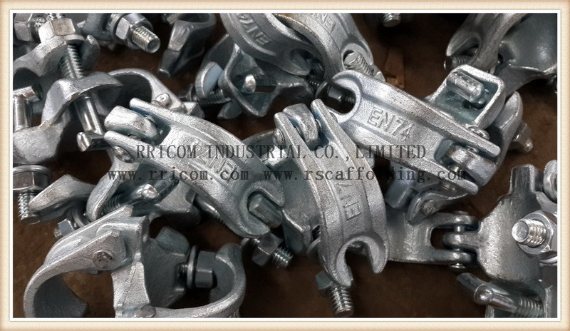 High Quality British Type Scaffolding Double Couplers pictures & photos