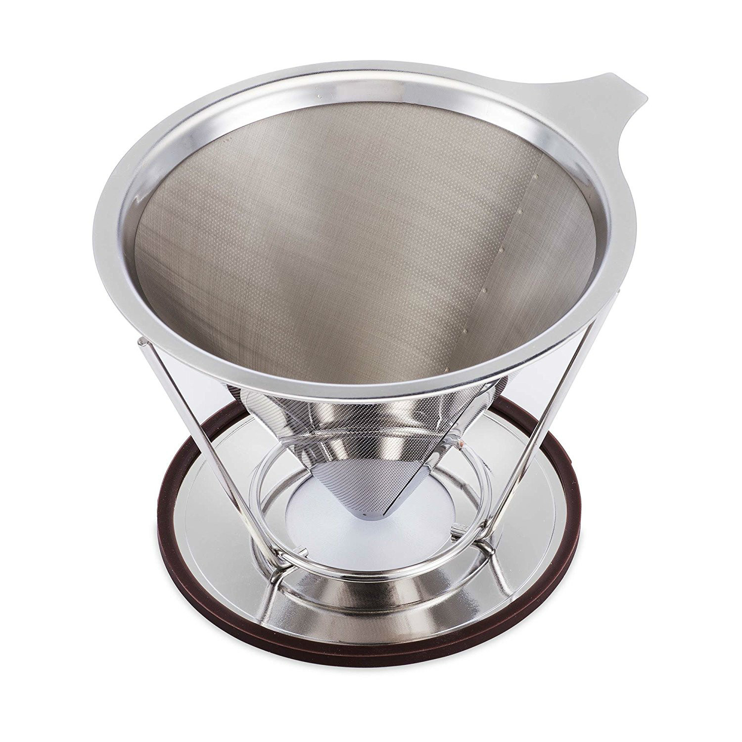 Pour Over Stainless Steel Cone Filter