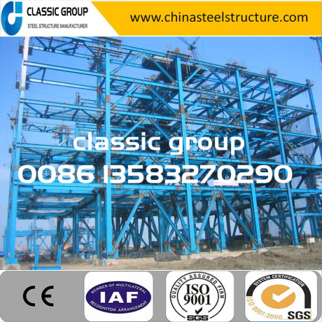 Big Hot-Selling Steel Frame Structure Warehouse/Workshop/Hangar/Factory Price