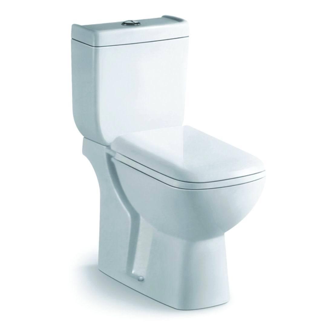 China Manufacturer Snow White Ceramic Toilet Sanitary Ware (S8005 ...