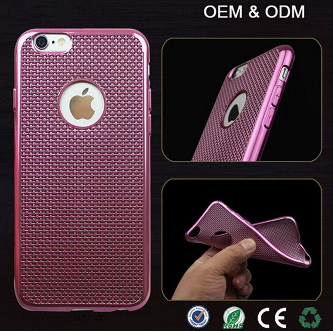 newest e6762 66c02 [Hot Item] Best Rugged Braided Newest Ultra Thin Electroplate TPU Cell  Phone Case for iPhone 6 6s Plus Mobile Cover