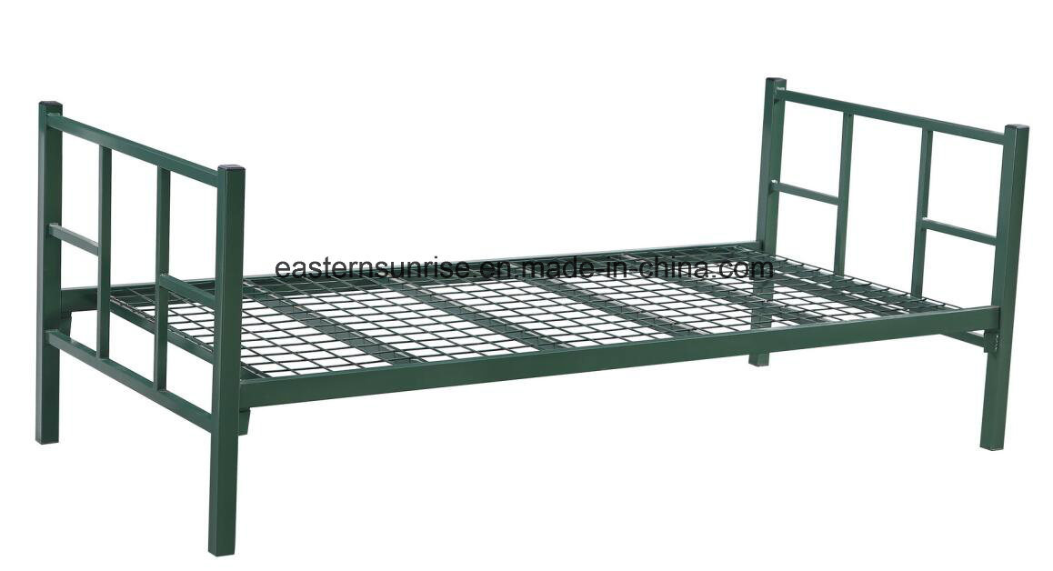 White Powder Coated Metal/Steel/Iron Single Bed pictures & photos