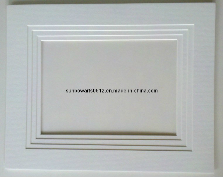 China Four Layer Picture Frame Mat-Multi Layer White Core Frame Mat ...