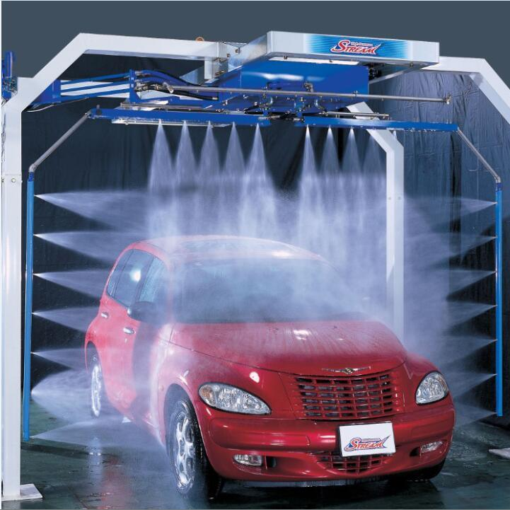 China Best Quality Touchless Car Wash Machine System For Luxury Car