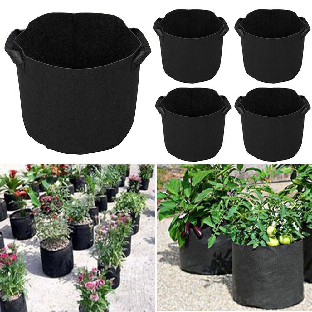 Details about  /Planting Bag Potato Planting Flower Pot Non-Woven Planting Container Bag