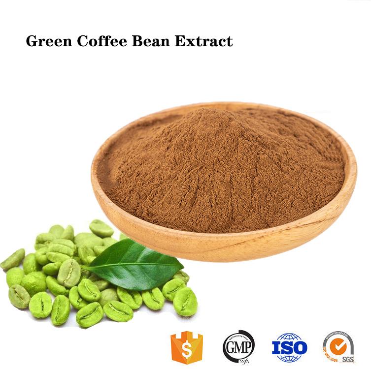 Bulk Organic Capulus Viridi Bean Extract Pure Green Coffee Bean
