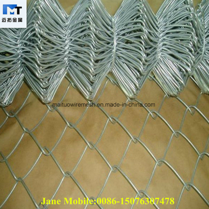 China Chain Link Fence Panels Lowes (MT-CL014) Photos & Pictures