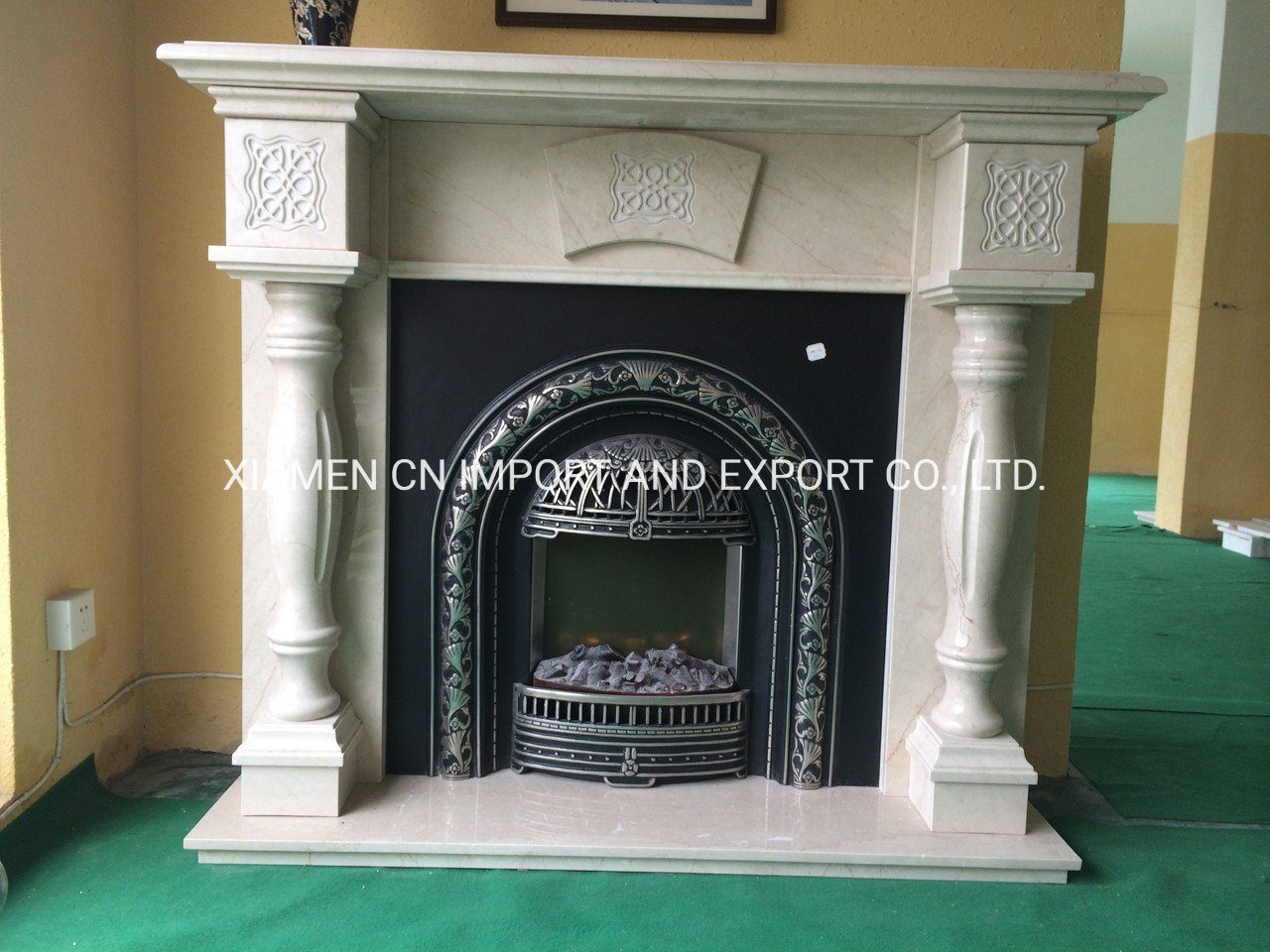 China Natural Stone Marble Fireplace Mantels Stone Fireplace Marble Mantel Stone Mantel Mantel Marble Surround Carved Electric Fireplace For Home Hotel Decoration China Stone Mantel Stone Fireplace