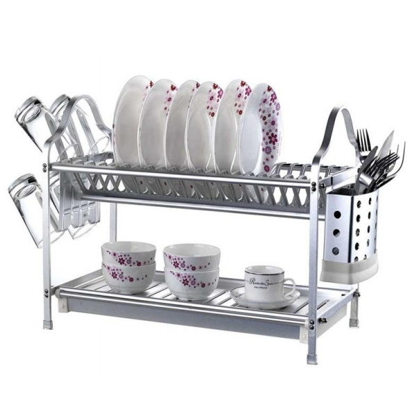 China Modern Kitchen Plastic Dish Drying Rack Racks Shelf