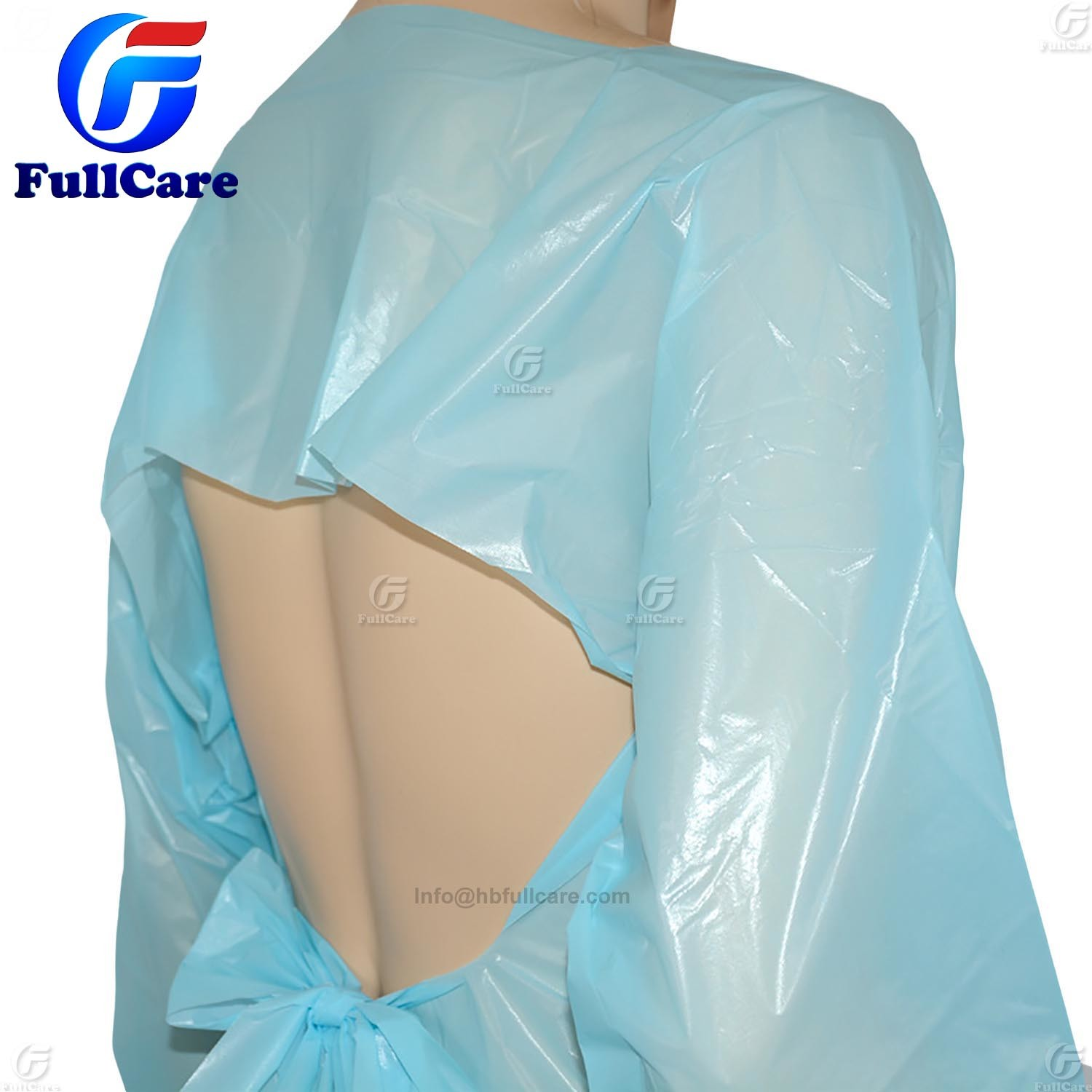 China Manufacturer Disposable CPE Surgical Gowns, Disposable Dental ...