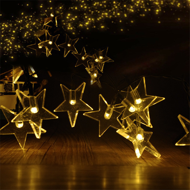 China Five Pointed Star Solar Led Light