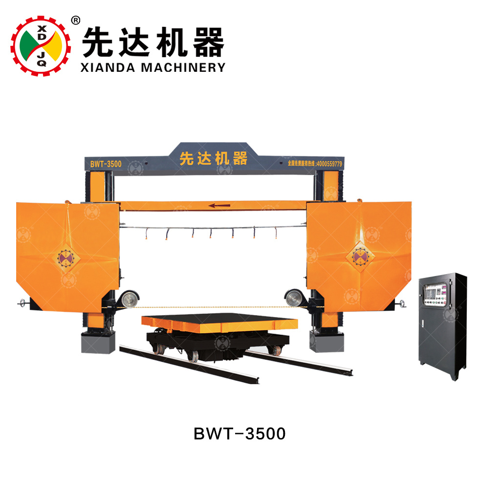 China Overseas Service After Sales Wire Saw Block Trimming Machine ...