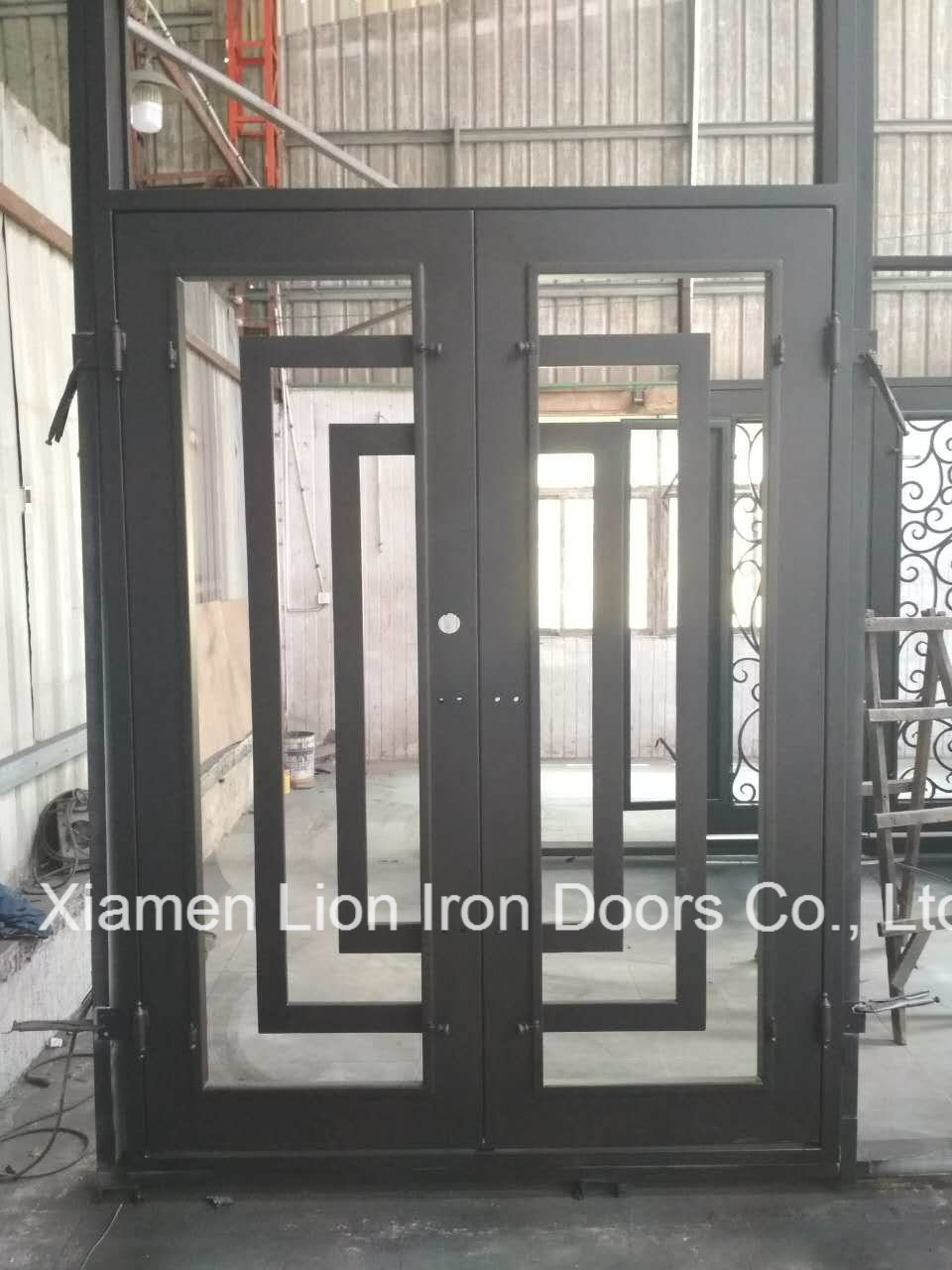 China Metal Security Door With Iron Gates Models New Design Iron