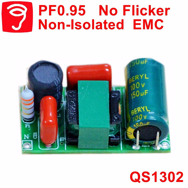 [Hot Item] 8-18W No Flicker Hpf Plug T5/T8 LED Tube Driver with EMC QS1302
