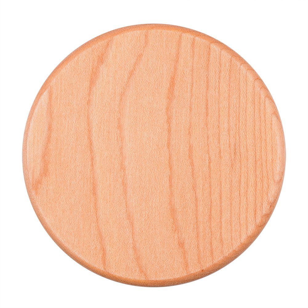 Wooden Mobile Fast Qi Wireless Charger for Samsung Galaxy iPhone