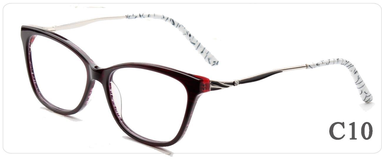 China Online New Arrival Women Designer Optical Frames Stock Acetate ...