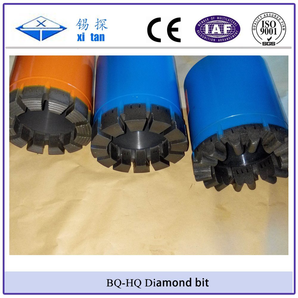 Xitan Bq Nq Hq Pq Wireline Core Diamond Bit Rotary Drill Bit pictures & photos