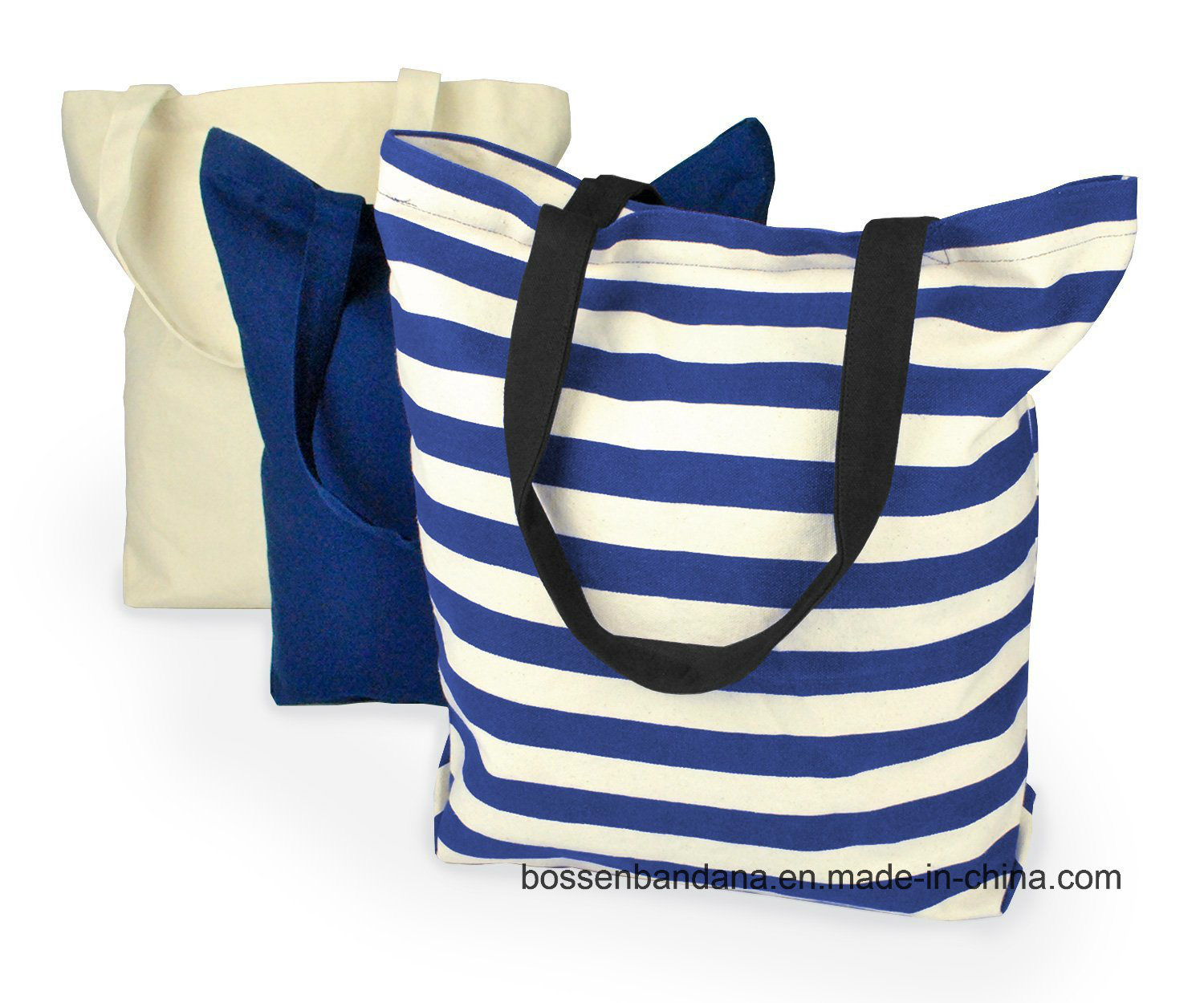 OEM Produce Customized Logo Printed Promotional Cotton Canvas Craft Tote Bag pictures & photos