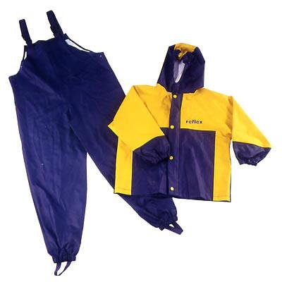 China Waterproof Bibs Rain Pants Kids Rain Jackets Coats