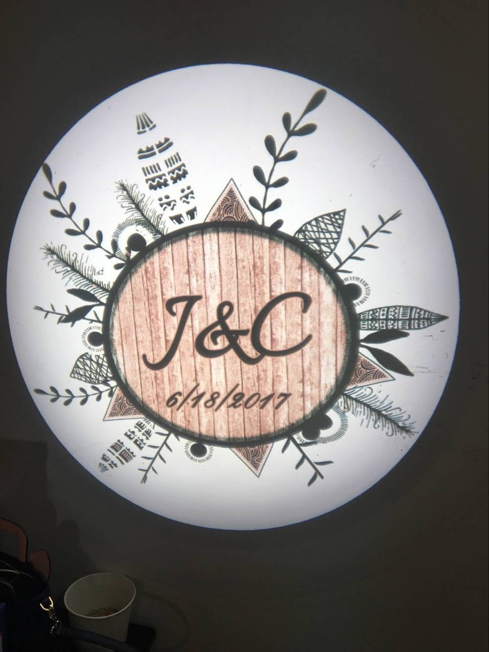 Single Image Static LED Logo Projector Lamp pictures & photos