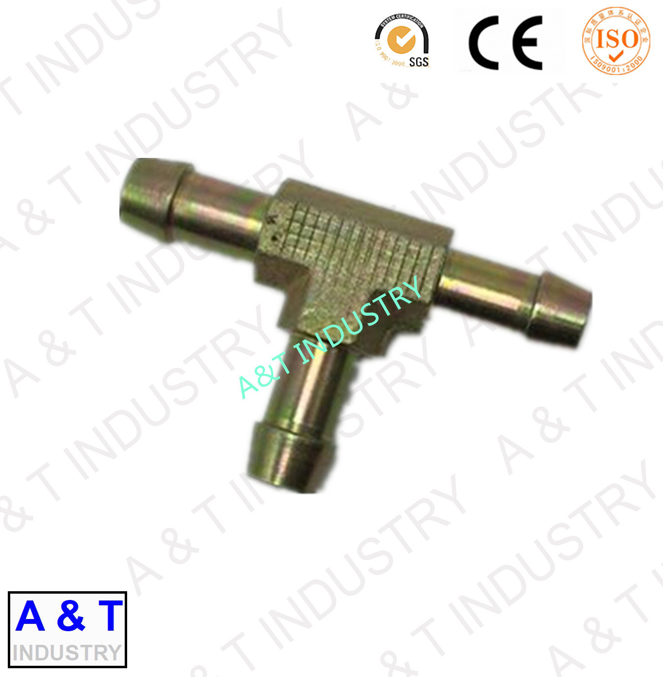 Male Carbon Steel Elbow 90 Degree Pipe Fitting Hydraulic Hose Fitting pictures & photos