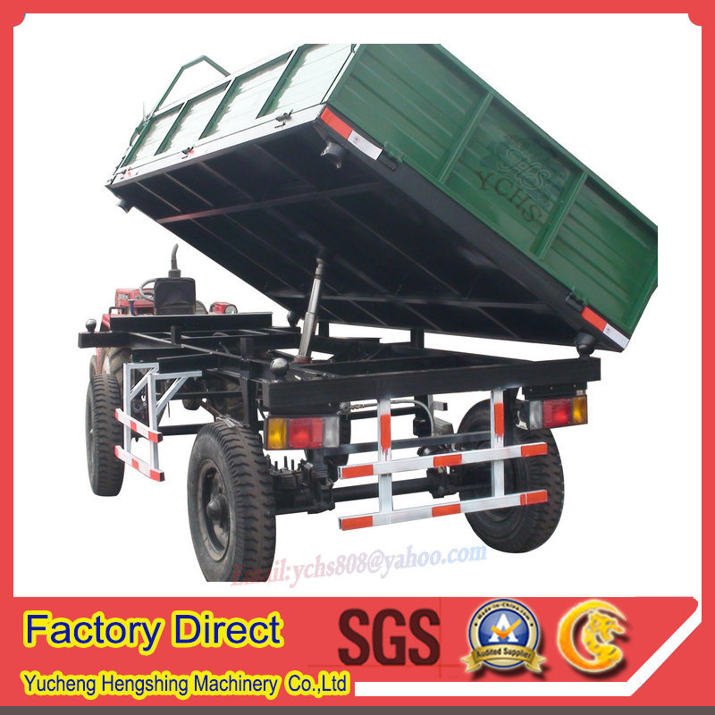 Tractor Trailed Dumping Trailer for Farm Machinery