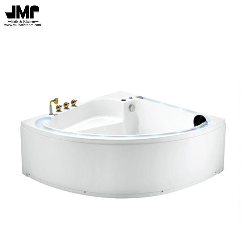 China Sanitary Ware Corner Bath Tub Bathroom Jacuzzi Massage Bathtub ...
